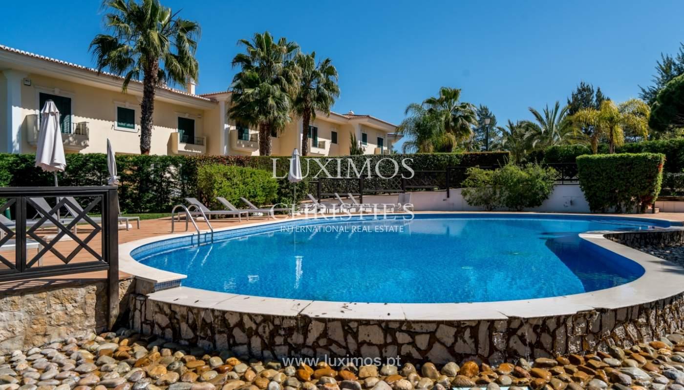 Verkauf von Wohnungen, front-Golfplatz im Almancil, Algarve, Portugal_102579