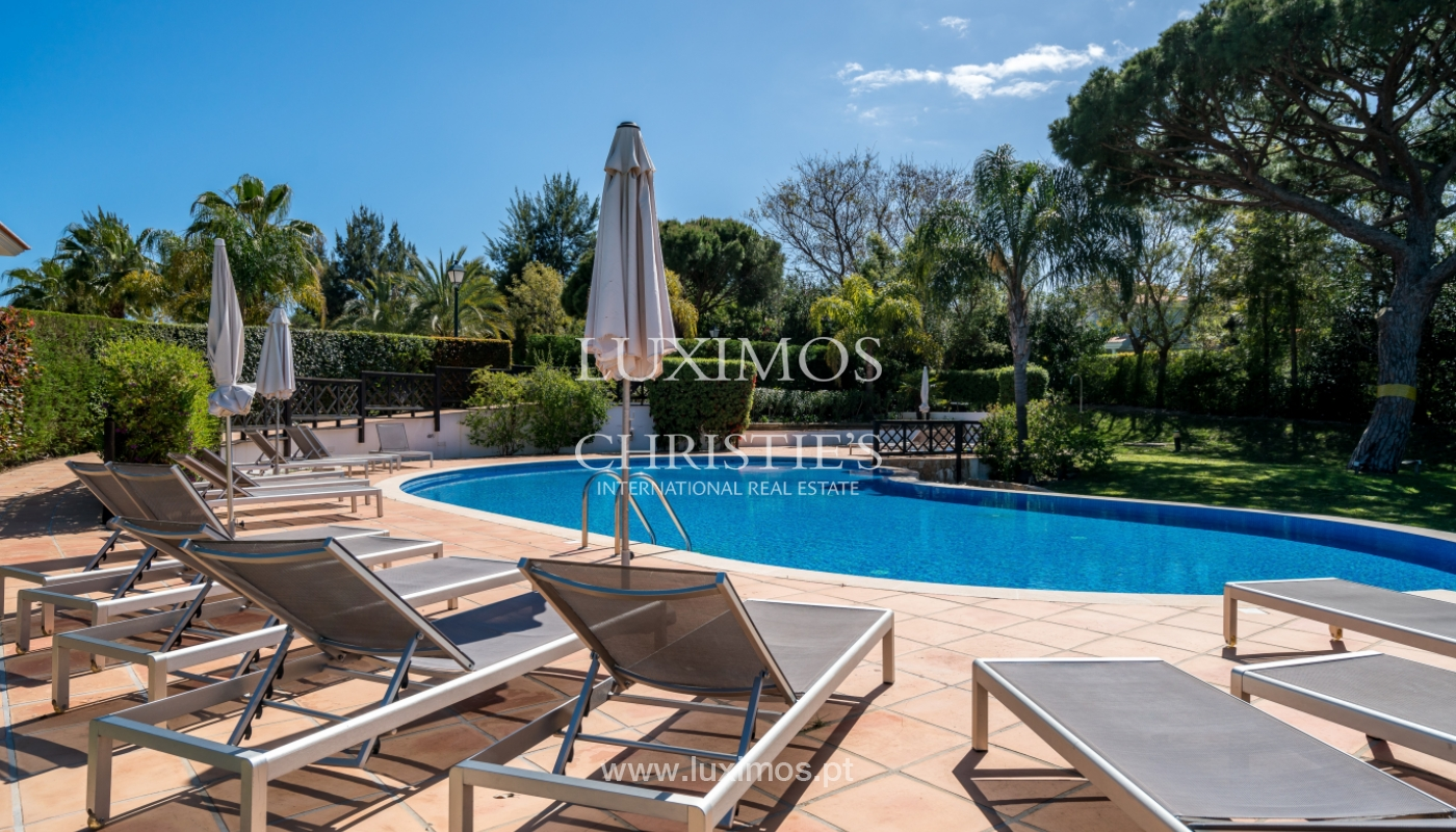 Verkauf von Wohnungen, front-Golfplatz im Almancil, Algarve, Portugal_102580