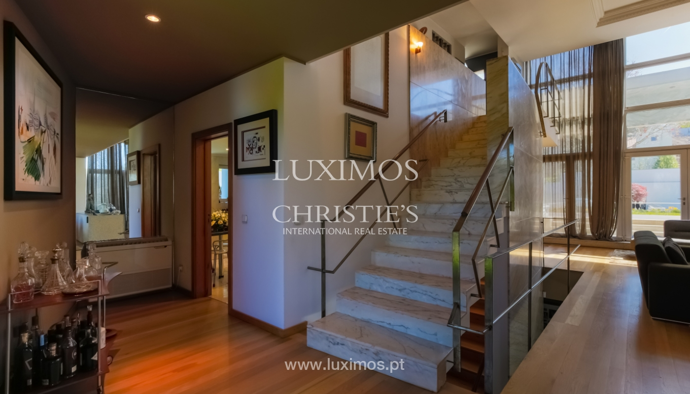Sale modern & luxury house with pool and garden, V. N. Gaia, Portugal_103524