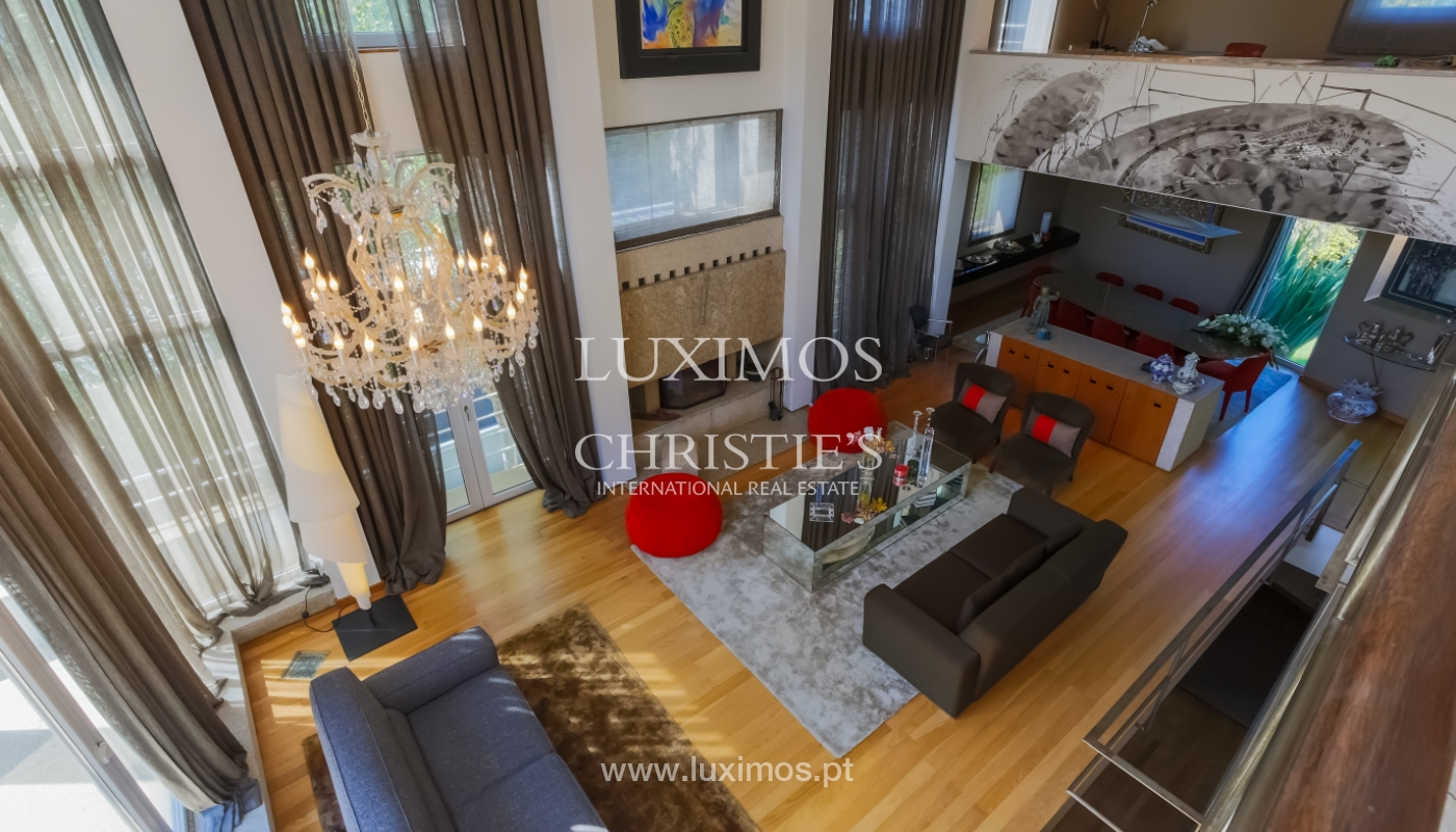 Sale modern & luxury house with pool and garden, V. N. Gaia, Portugal_103527