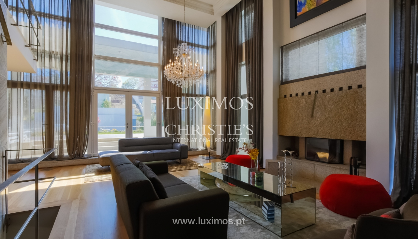 Sale modern & luxury house with pool and garden, V. N. Gaia, Portugal_103534