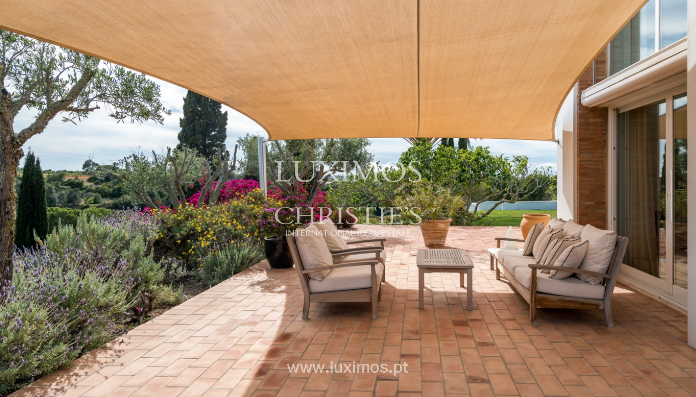 Sale of luxury property with swimming pool in Lagoa, Algarve, Portugal_103680