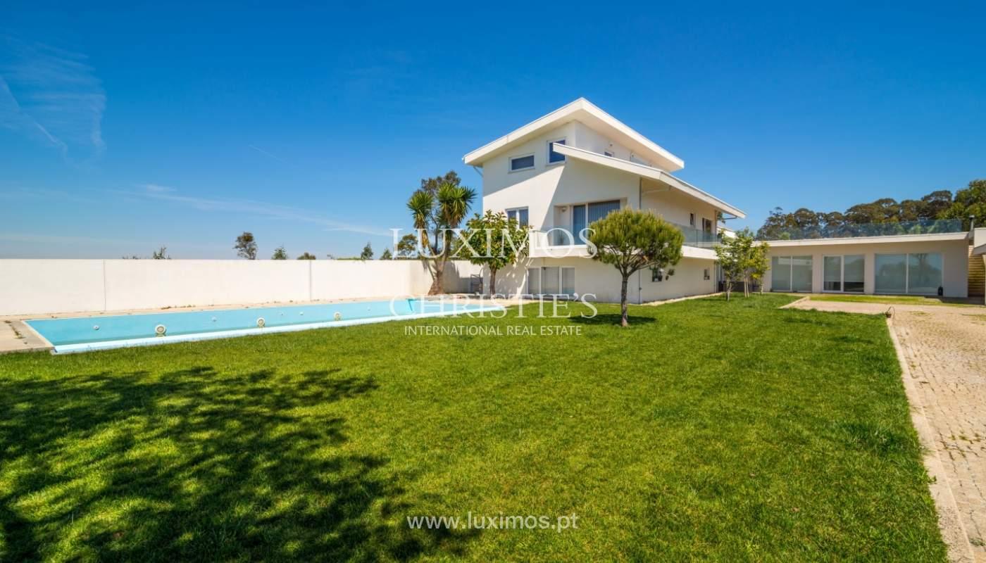 Venta vivienda de lujo con piscina con vistas al mar V. N. Gaia, Portugal_103774