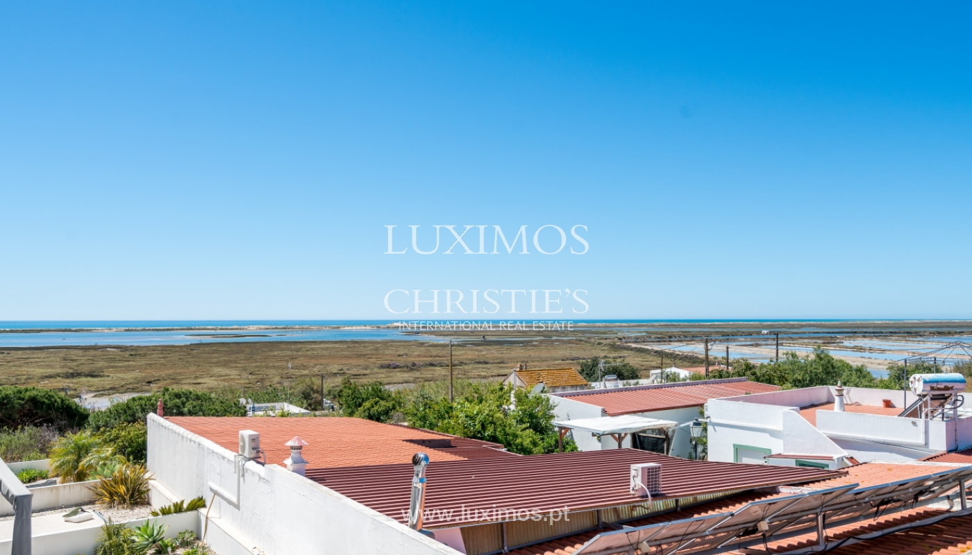 Sale of villa with sea and ria view in Olhão, Algarve, Portugal_104196