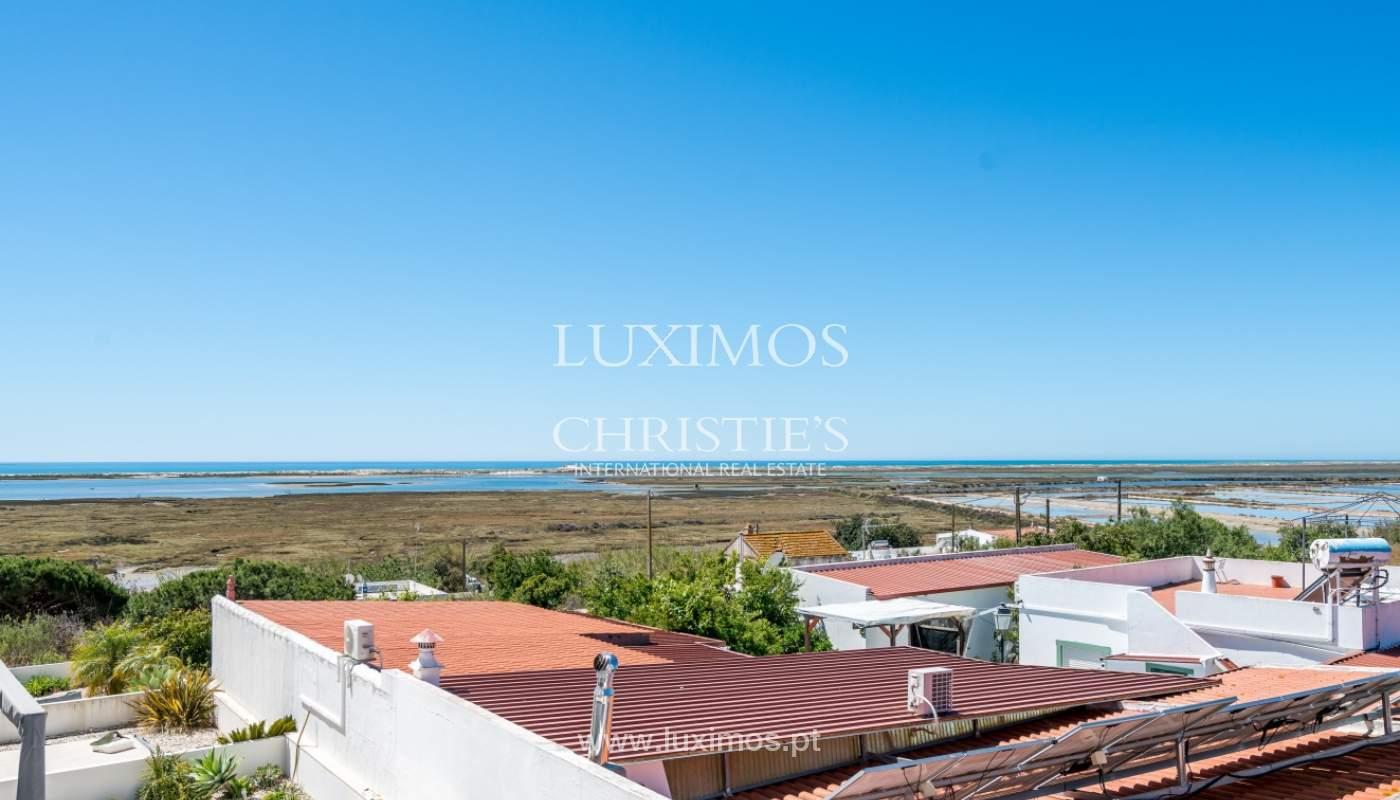Sale of villa with sea and ria view near Olhão, Algarve, Portugal_104196