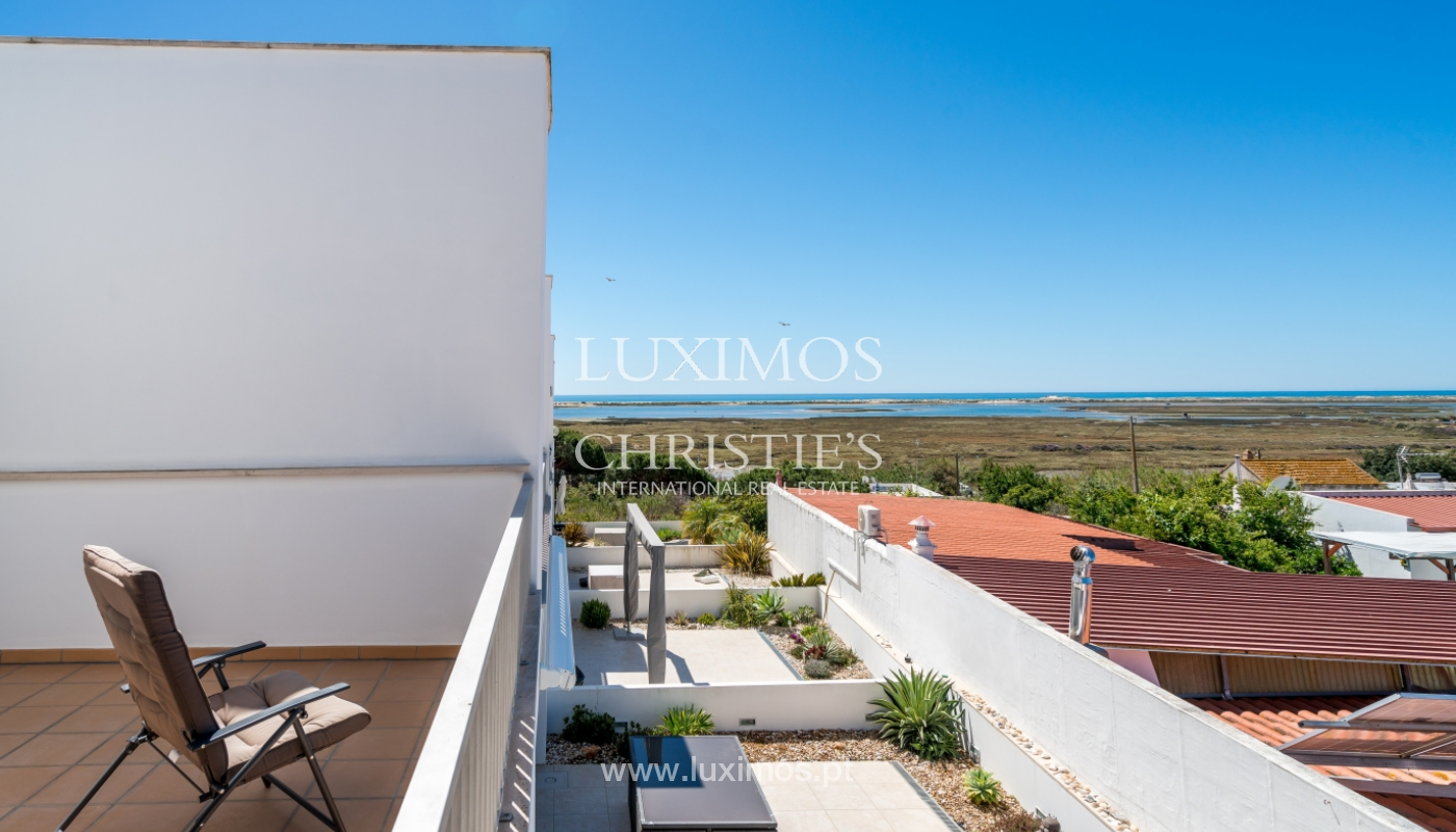 Sale of villa with sea and ria view near Olhão, Algarve, Portugal_104198