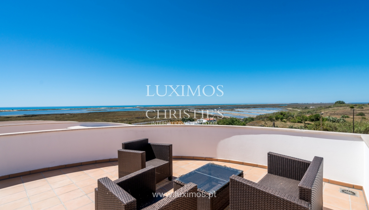 Sale of villa with sea and ria view in Olhão, Algarve, Portugal_104201