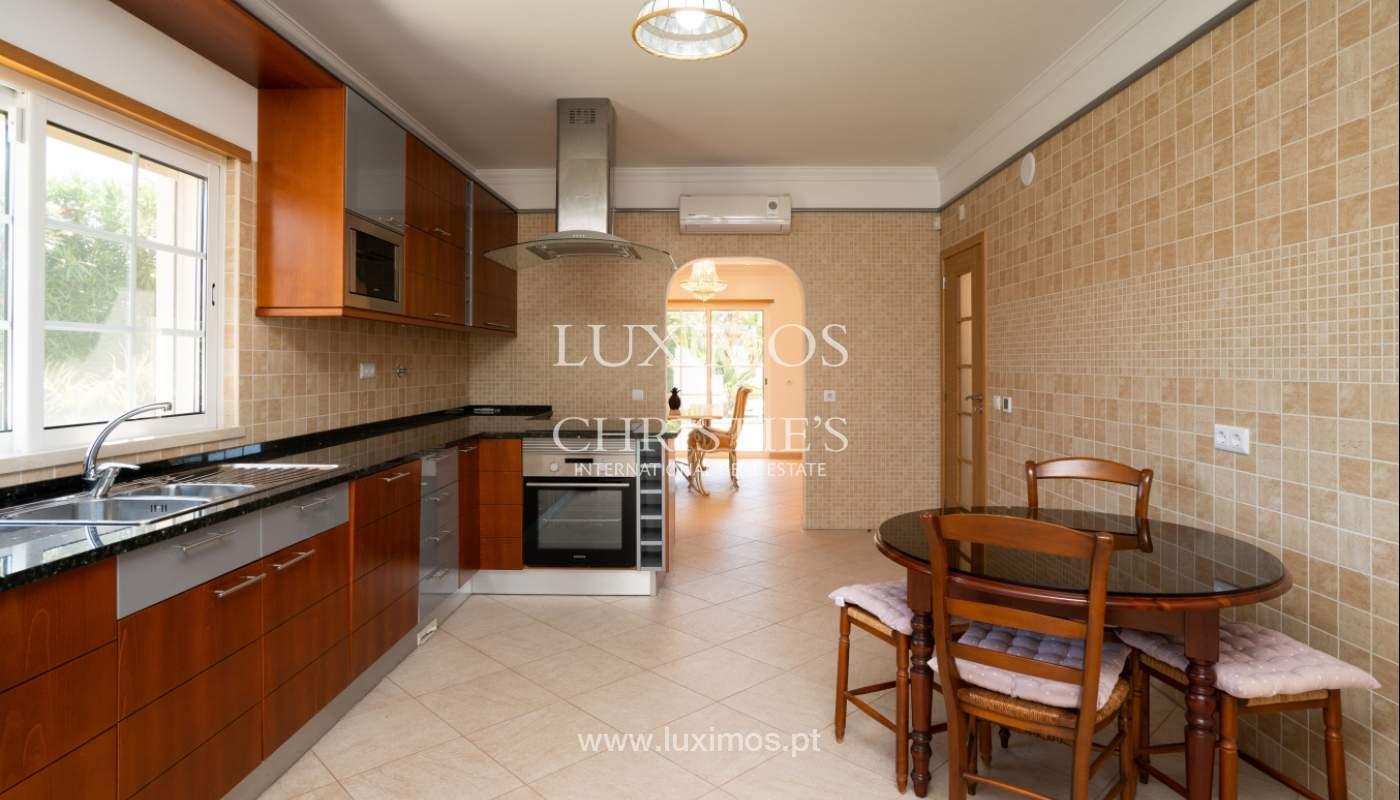 Sale of villa with swimming pool in Quarteira, Algarve, Portugal_105115