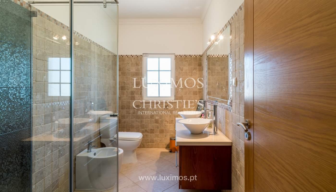 Sale of villa with swimming pool in Quarteira, Algarve, Portugal_105116
