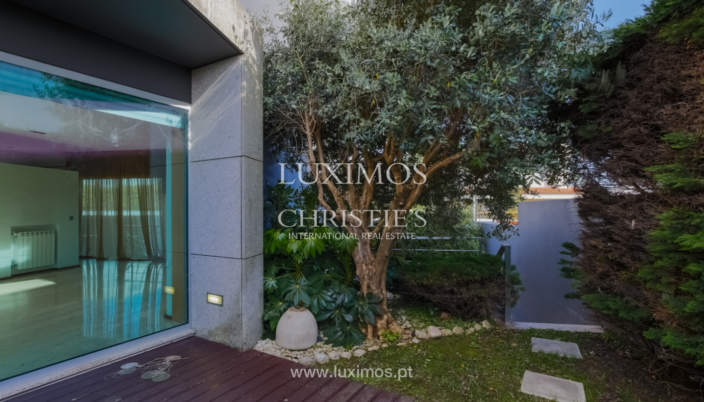 Sale contemporary villa with garden and pool, Vila do Conde, Portugal_105181