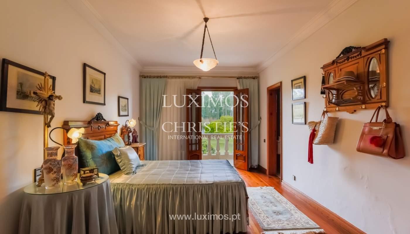 Sale of luxury villa with wide plot, Vila do Conde, Portugal_105381
