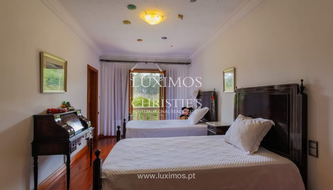 Sale of luxury villa with wide plot, Vila do Conde, Portugal_105382