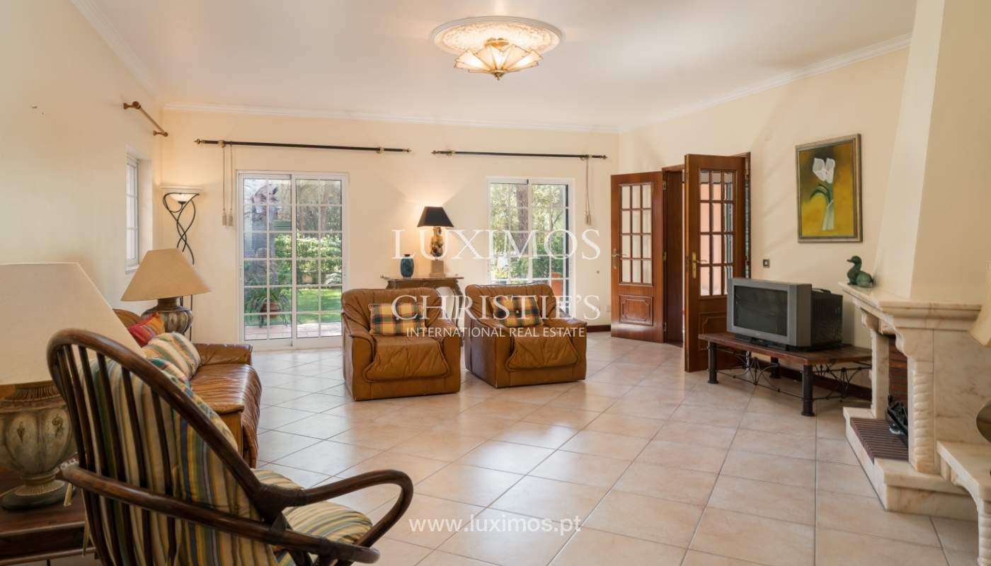 Sale of villa by golf course in Vilamoura, Algarve, Portugal_105425