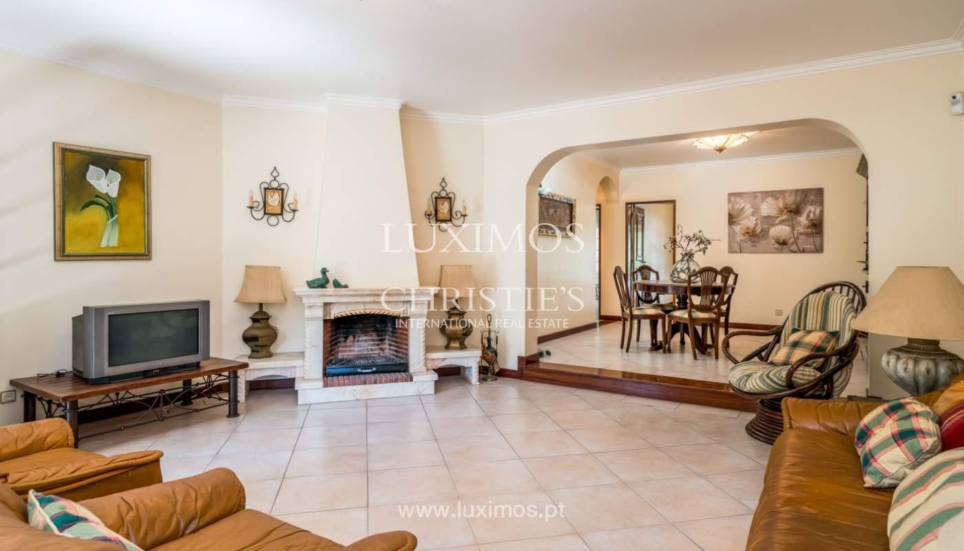 Sale of villa by golf course in Vilamoura, Algarve, Portugal_105428