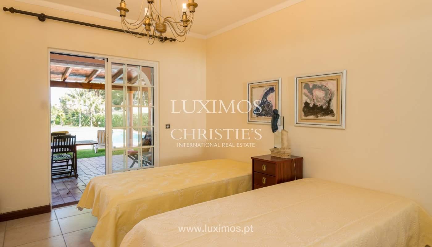 Sale of villa by golf course in Vilamoura, Algarve, Portugal_105430