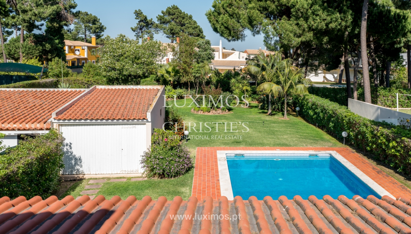Sale of villa by golf course in Vilamoura, Algarve, Portugal_105446