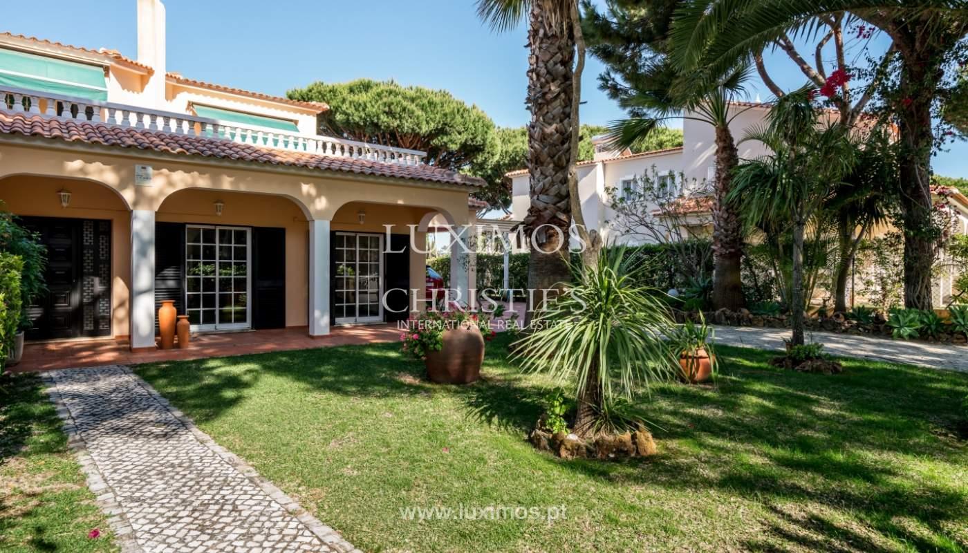 Sale of villa by golf course in Vilamoura, Algarve, Portugal_105449