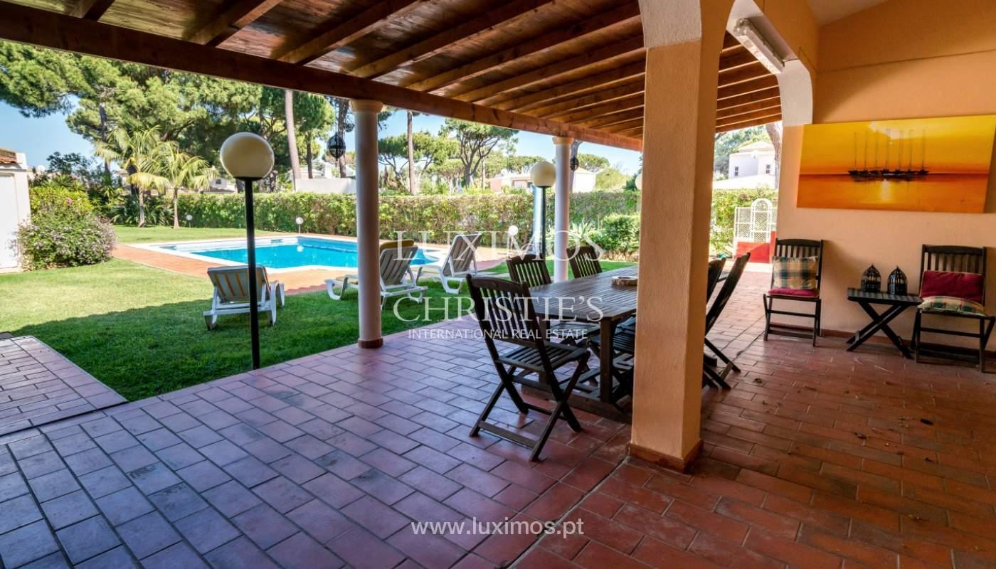 Sale of villa by golf course in Vilamoura, Algarve, Portugal_105453