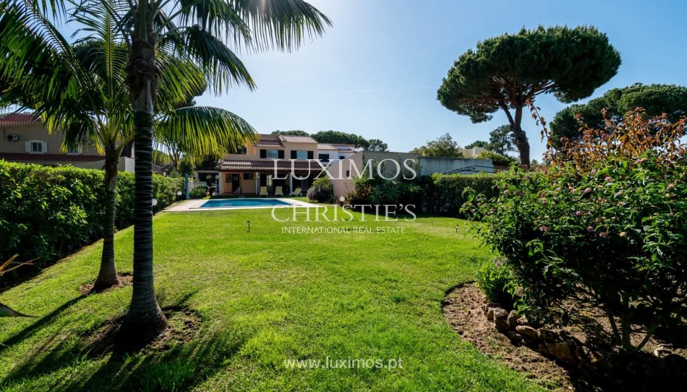Sale of villa by golf course in Vilamoura, Algarve, Portugal_105456