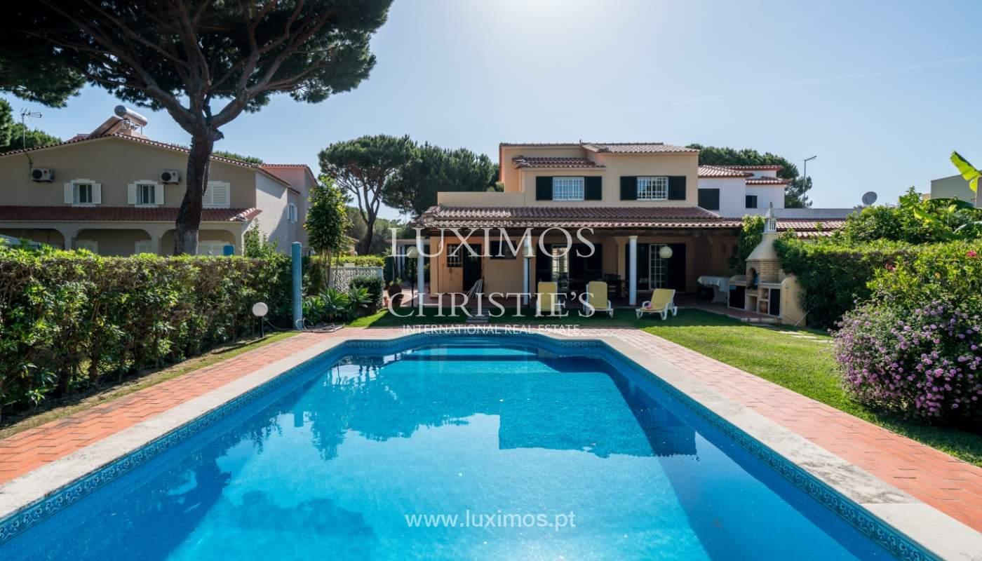 Sale of villa by golf course in Vilamoura, Algarve, Portugal_105457