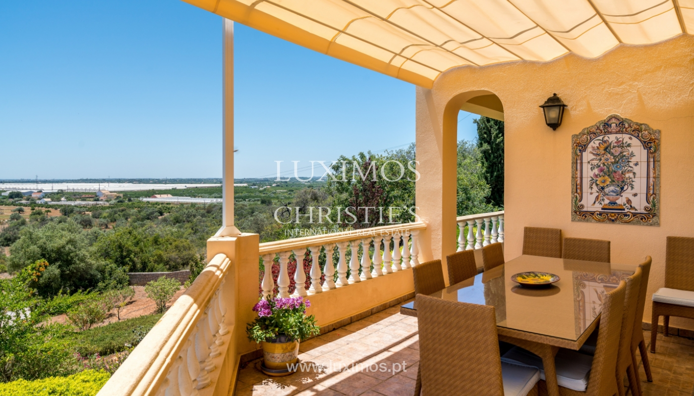 Sale of villa with sea views in Tavira, Algarve, Portugal_105543