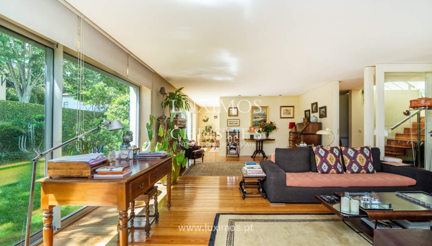 Verkauf Luxus-villa mit großem Garten, Foz do Douro, Porto, Portugal_105778