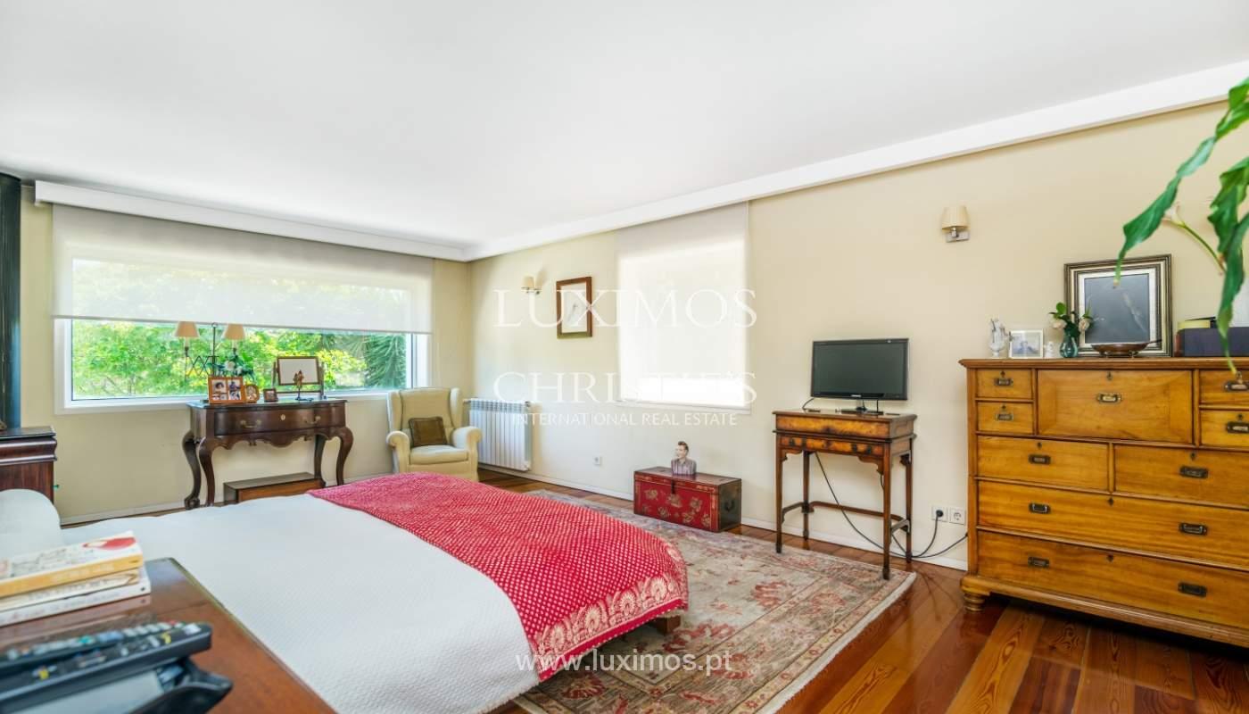 Verkauf Luxus-villa mit großem Garten, Foz do Douro, Porto, Portugal_105790