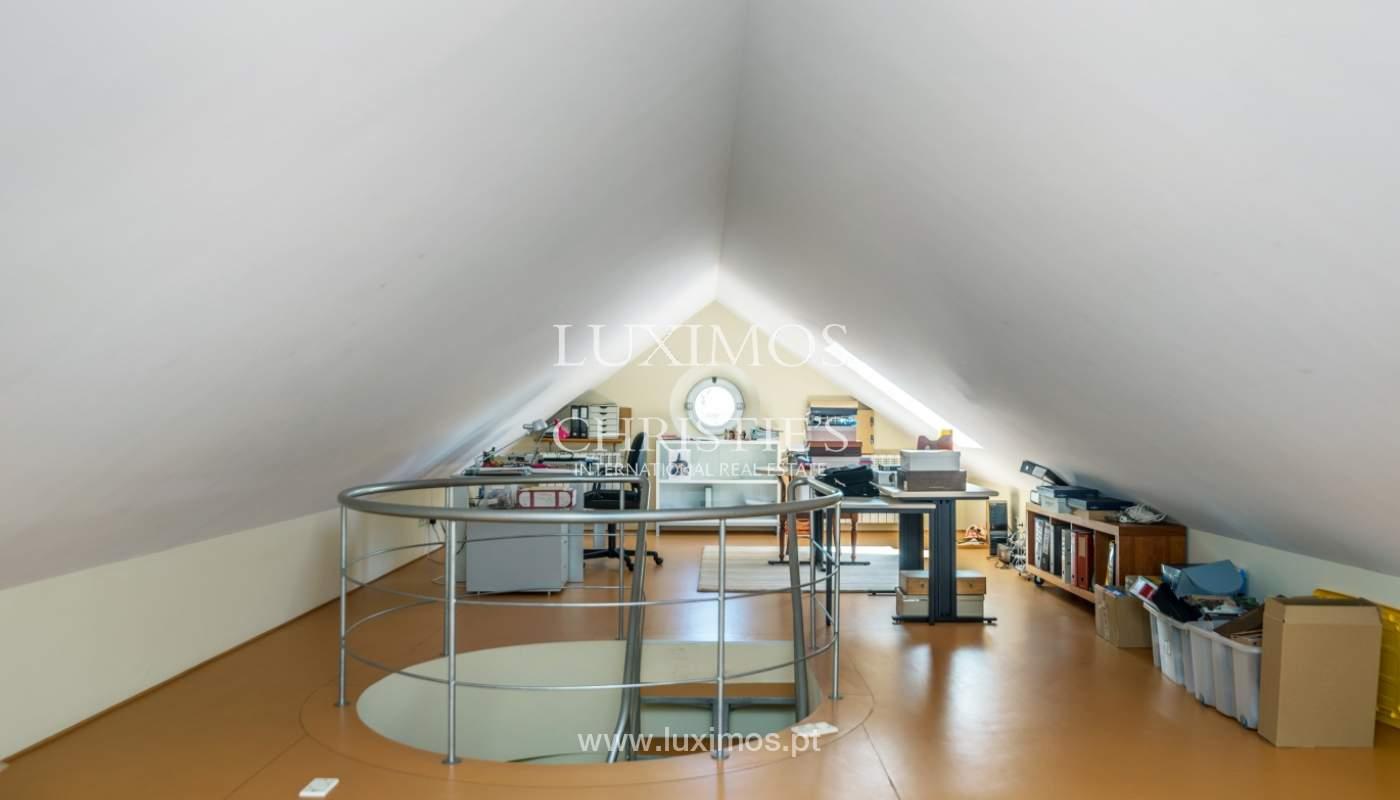 Verkauf Luxus-villa mit großem Garten, Foz do Douro, Porto, Portugal_105794