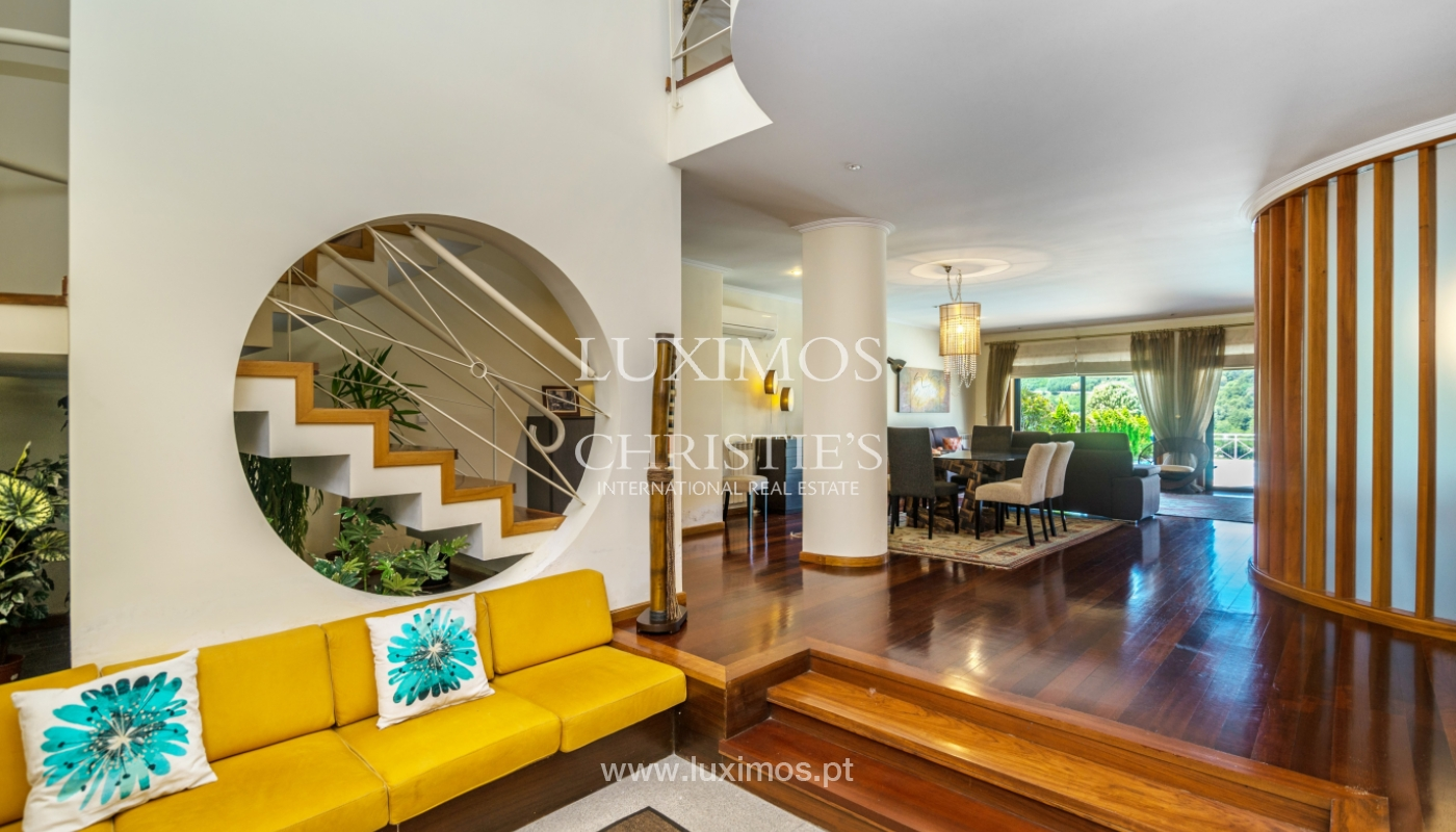 Sale of luxury house w/ pool and river front, Porto, Portugal_105871
