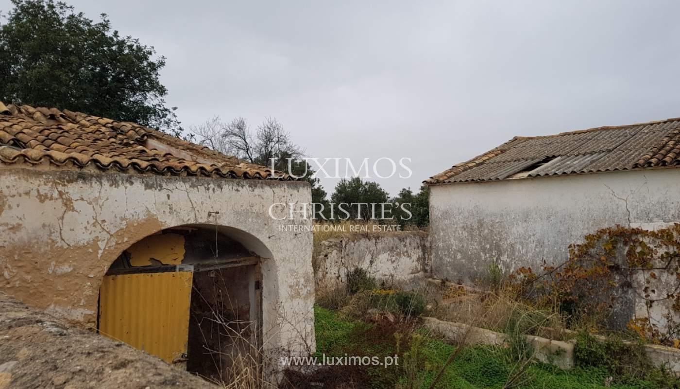 Terrain et ruine à vendre à Vale Judeu, Loulé, Algarve, Portugal_105929