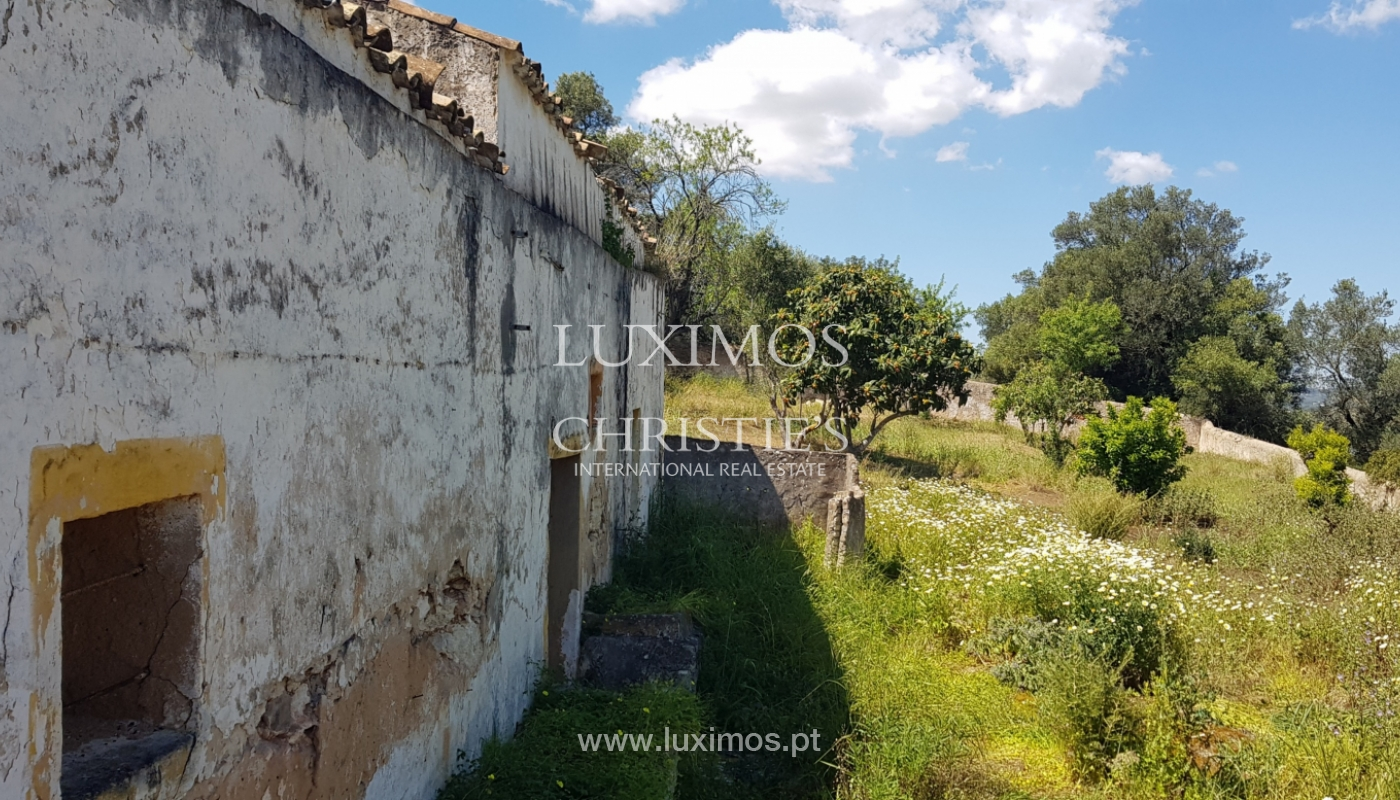 Sale of plot of land with ruin in Vale Judeu, Loulé, Algarve, Portugal_105935