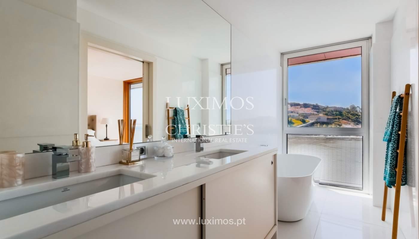 Sale of luxury apartment with river views, private condo, Porto, Portugal_106068