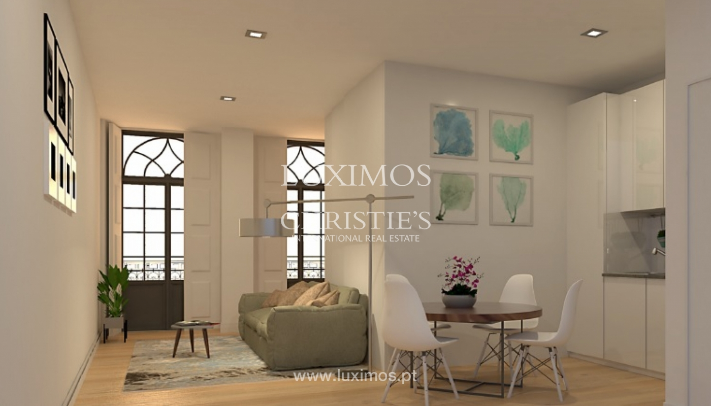Sale of brand new apartment with terrace in downtown Porto, Portugal_106095