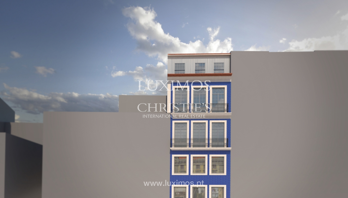 Sale of brand new apartment with terrace in downtown Porto, Portugal_106096