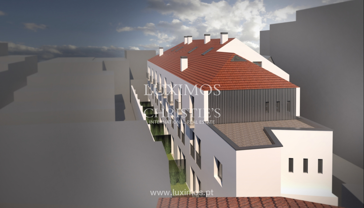 Sale of brand new apartment with terrace in downtown Porto, Portugal_106099
