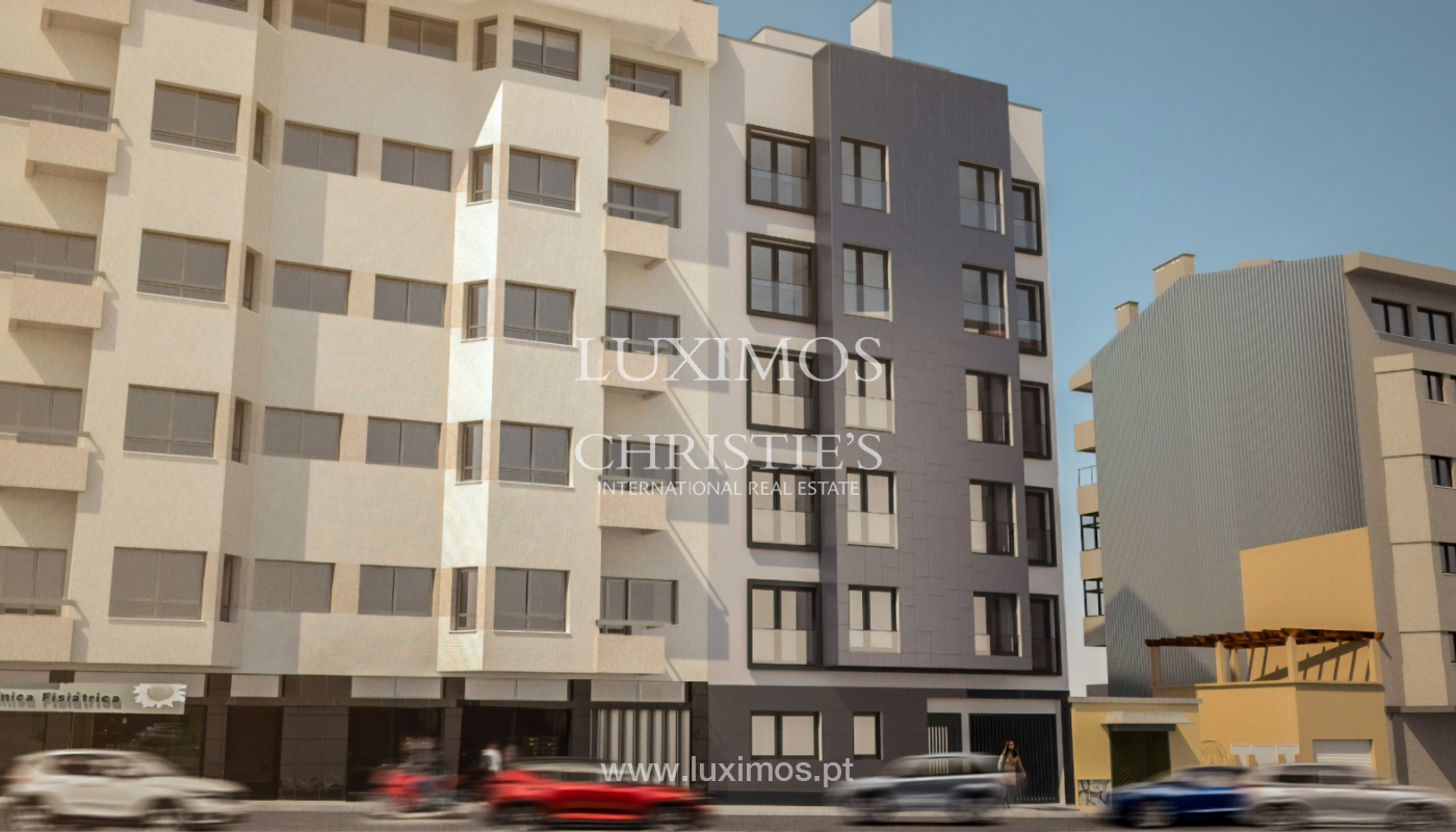 Sale apartment with abalcony in new development, Porto, Portugal_106363