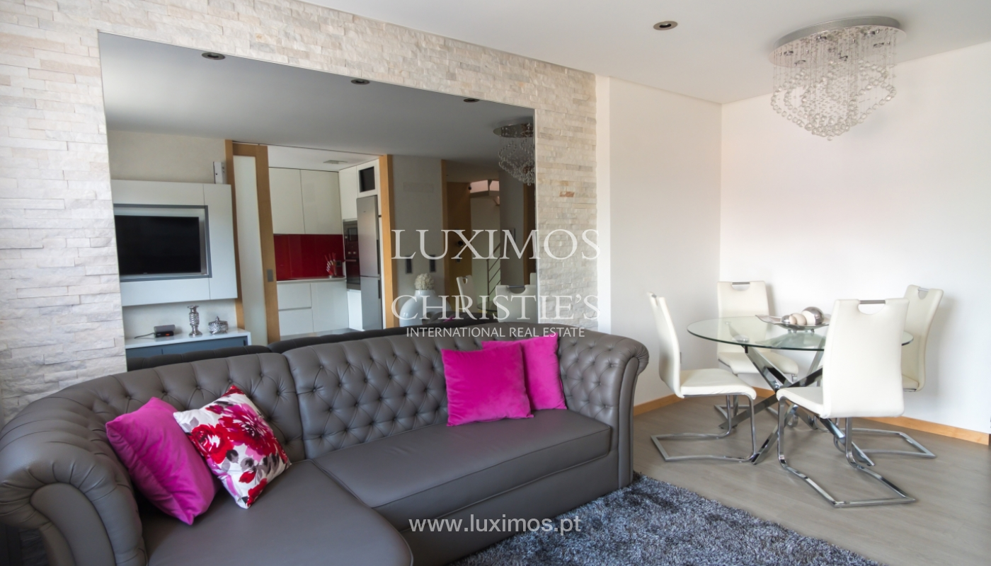 Sale of duplex contemporary apartment with a terrace, Porto, Portugal_106796