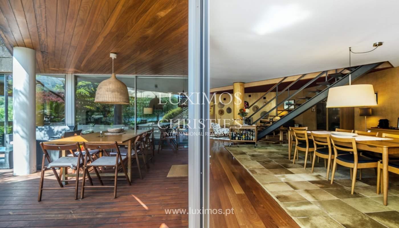 Venda de moradia com 100m de frente de rio, piscina e jardim, Baião_107013