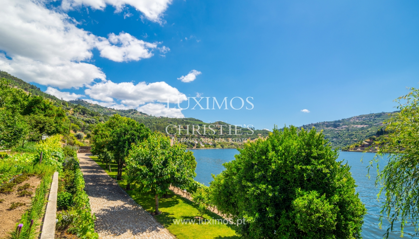 Fabulous waterfront estate for sale, pool and garden, Baião, Portugal_107031