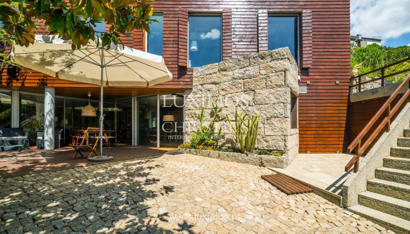 Venda de moradia com 100m de frente de rio, piscina e jardim, Baião_107032