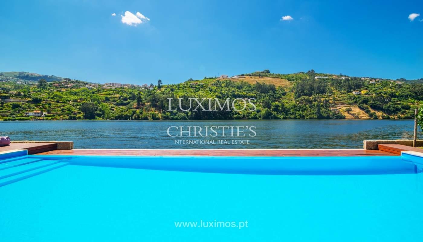 Venda de moradia com 100m de frente de rio, piscina e jardim, Baião_107038