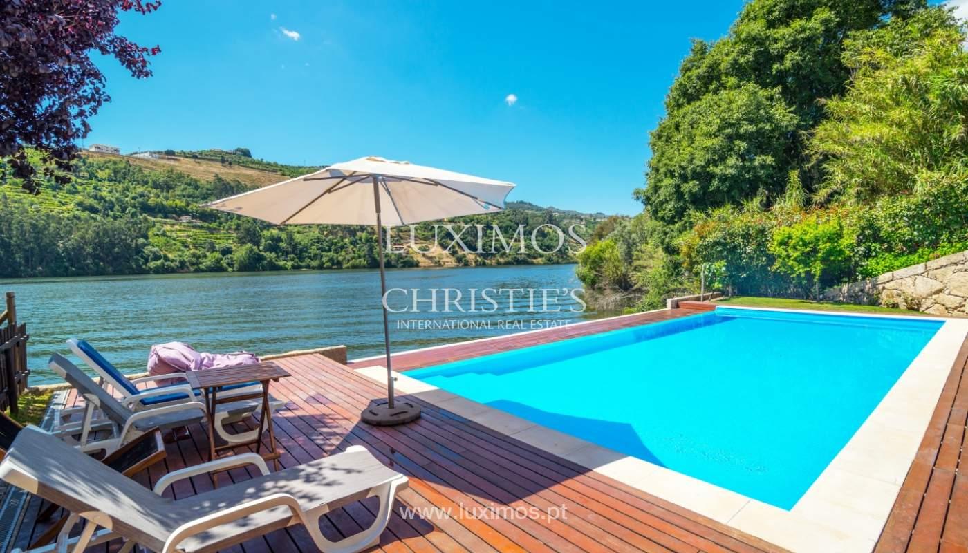 Venda de moradia com 100m de frente de rio, piscina e jardim, Baião_107039