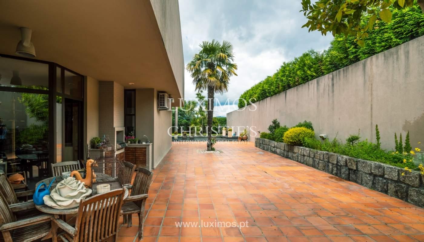 Luxury villa for sale with pool, terrace and garden, Paços de Ferreira, Portugal_107276