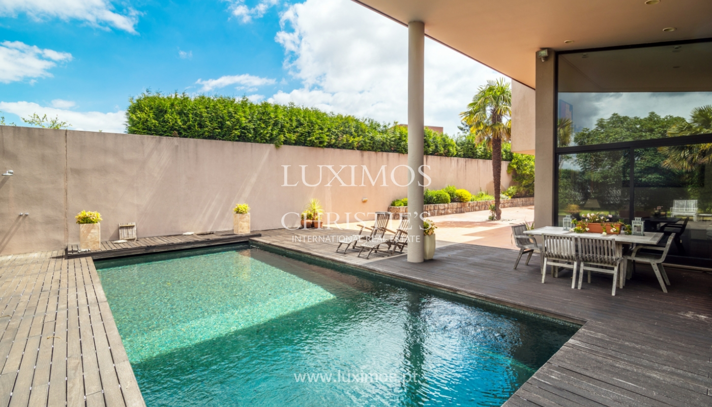 Luxury villa for sale with pool, terrace and garden, Paços de Ferreira, Portugal_107277