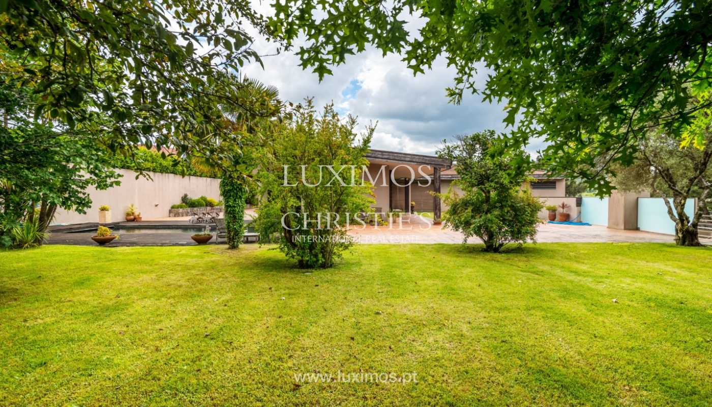 Maison avec piscine, terrasse et jardin, à vendre, Paços de Ferreira, Portugal_107278