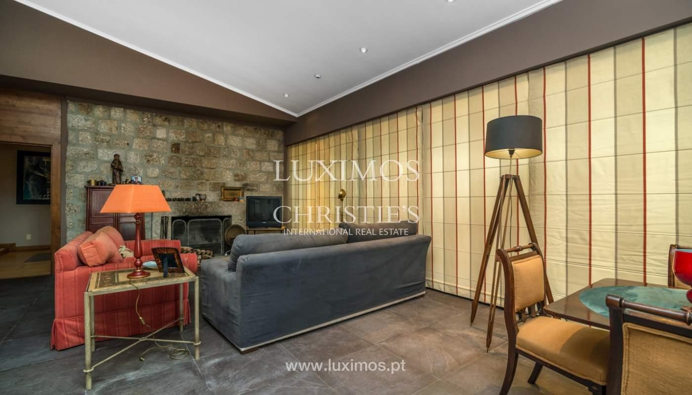 Luxury villa for sale with pool, terrace and garden, Paços de Ferreira, Portugal_107282