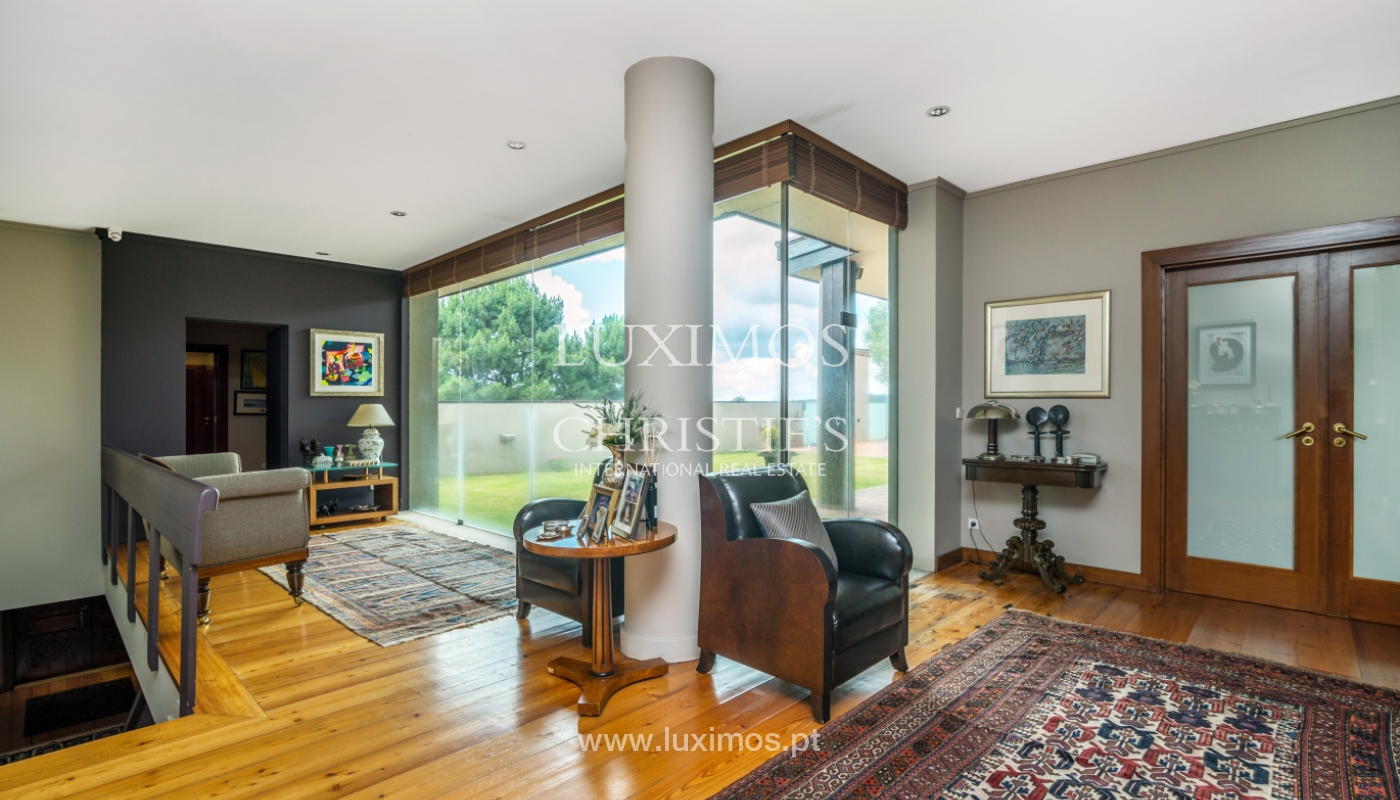 Luxury villa for sale with pool, terrace and garden, Paços de Ferreira, Portugal_107286