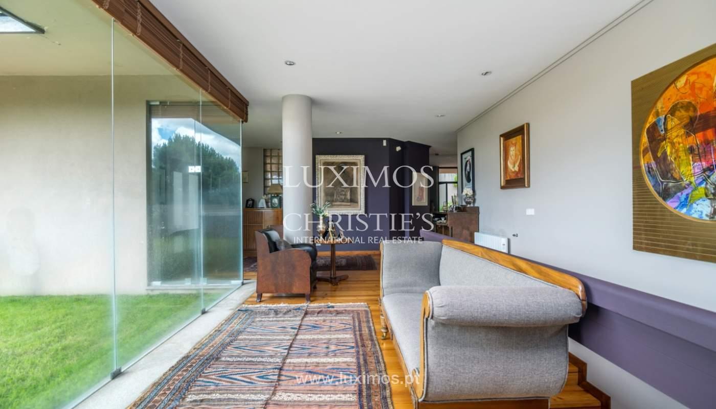 Luxury villa for sale with pool, terrace and garden, Paços de Ferreira, Portugal_107287