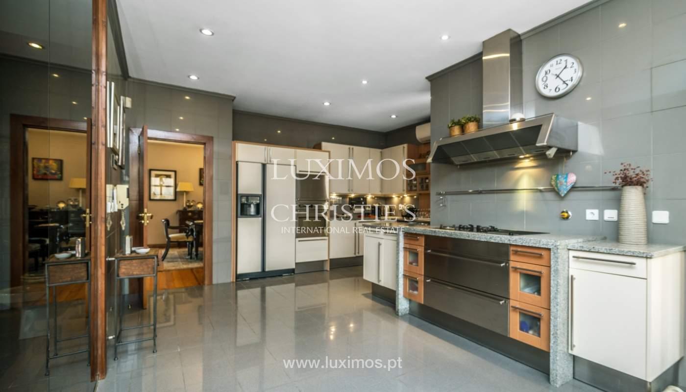 Luxury villa for sale with pool, terrace and garden, Paços de Ferreira, Portugal_107288