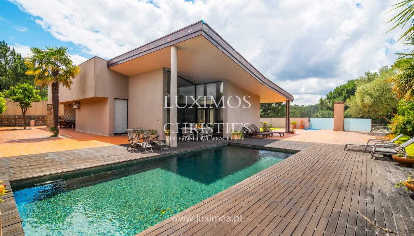 Luxury villa for sale with pool, terrace and garden, Paços de Ferreira, Portugal_107297